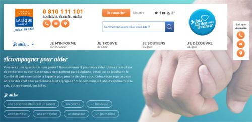 La Ligue contre le cancer fait peau neuve sur le web
