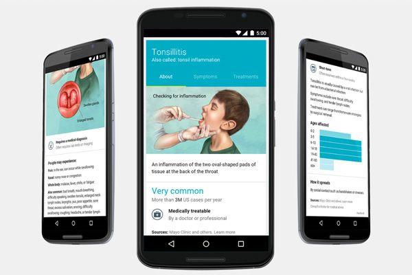 Google se transforme en encyclopédie médicale