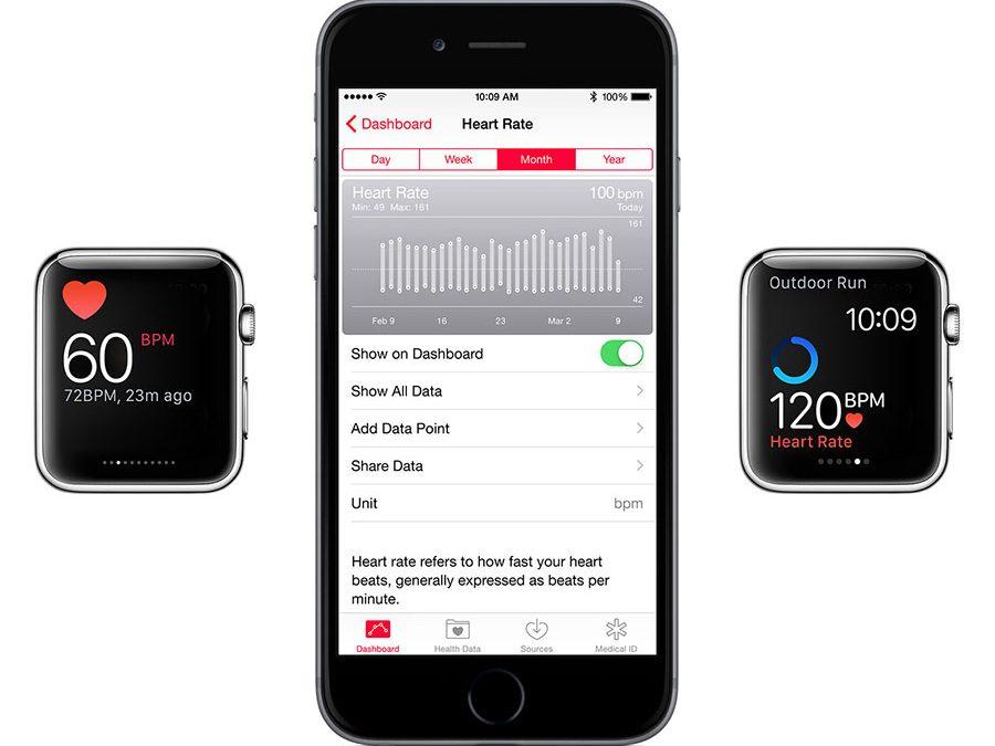 Le suivi cardiaque de l'Apple Watch détaillé