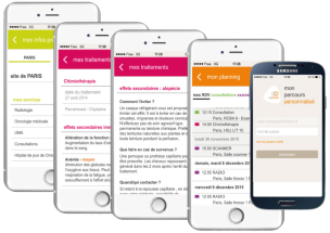 MyCurie : application pour faciliter le quotidien des patients