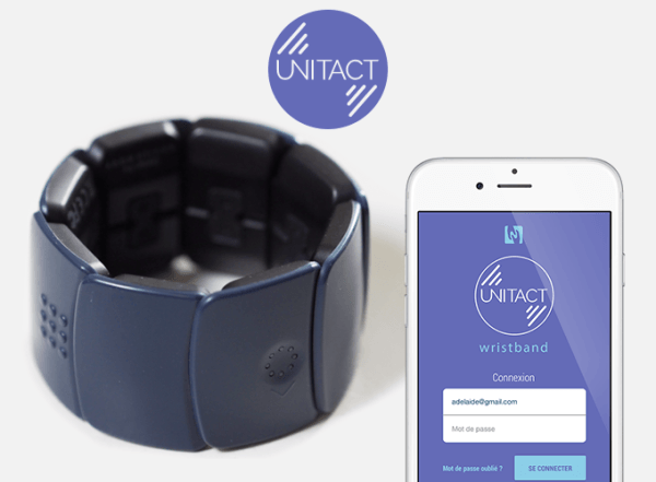 Unitact : bracelet connecté pour malentendants