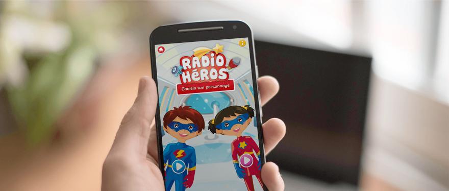 Radio Héros, l'application pour les jeunes patients récompensée au FestivalComSanté